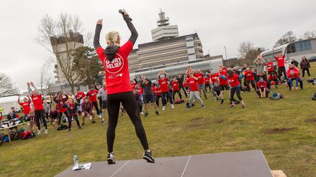 Adastral Park'�s sports day. Picture: LEE WILKINSON