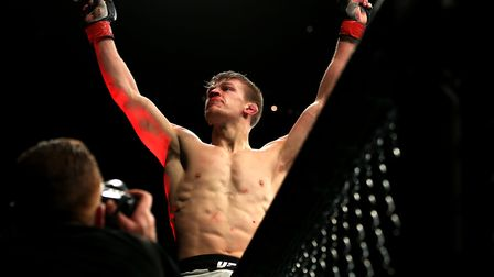 Suffolk's UFC star Arnold Allen dreams of bringing the world-famous octagon to Ipswich - and Portman