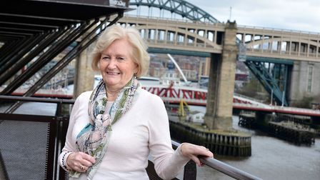 Lady Elsie in Newcastle upon Tyne. We just began it and hoped for the best... Picture: Sir Bobby R