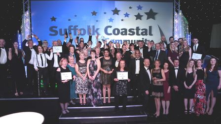 Winners of the 2018 Suffolk Coastal Business and Community Awards. Picture: DE PHOTO