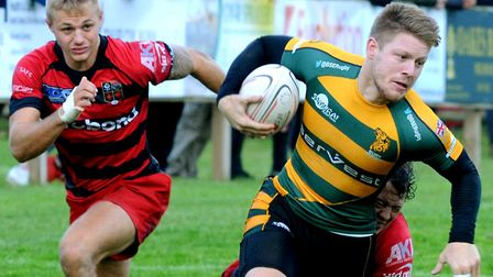 Mark Kohler was in fine form for Bury in their big win at London Irish. Picture: ANDY ABBOTT