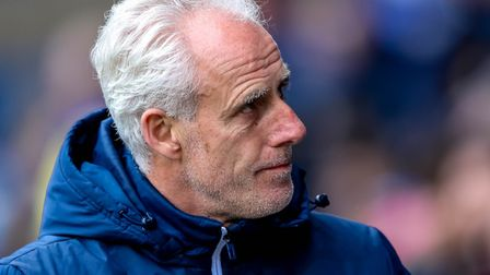 Ipswich Town boss Mick McCarthy is out of contract this summer. Photo: Steve Waller