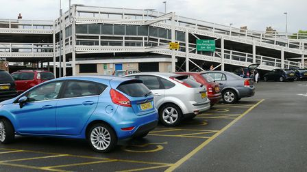 Tendring District Council car park, Clacton High Street. A pledge has been given that parking charge