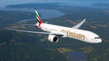 The new daily route between Stansted and Dubai will be operated by Emirates using a three-class Boei