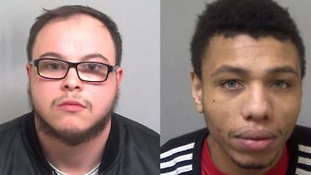 Regean Richards-Neville and Jamel Bousbaa have been jailed for supplying drugs. Picture: ESSEX POLIC