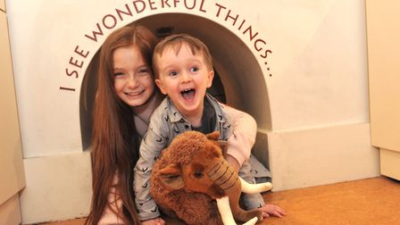 Activities are being held at Ipswich Museum for children this Easter. Picture: LUCY TAYLOR