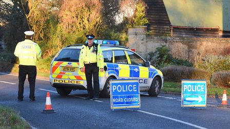 Colin Taylor died at the scene of the collision just outside the village of Hitcham on the B1115. Pi