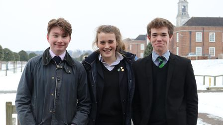 Five students have been offered places to study at Oxford and Cambridge. Picture: ROYAL HOSPITAL SCH