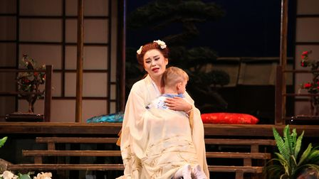 Madama Butterfly was performed at the Ipswich Regent. Picture: ELLEN KENT PRODUCTIONS