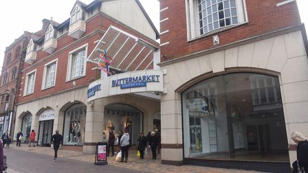 Buttermarket, Ipswich. Picture: LUCY TAYLOR