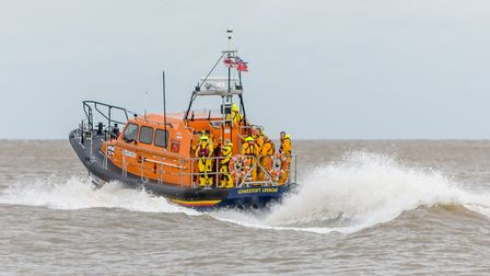 The RNLI is warning beach-goers to take care around the water this Easter. Picture: ALAN WALKER