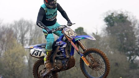 Jake Shipton in action at Blaxhall at the weekend. Photo: DEAN WARNER
