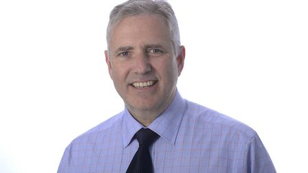 Dr Mark Shenton, a GP in Stowmarket and chair of the Ipswich and East Suffolk CCG. Picture: PAGEPIX