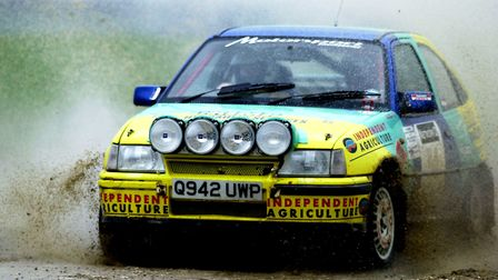 The Corbeau seats rally is coming to Tendring on April 22. Stock image of a rally car. Picture: ANDY