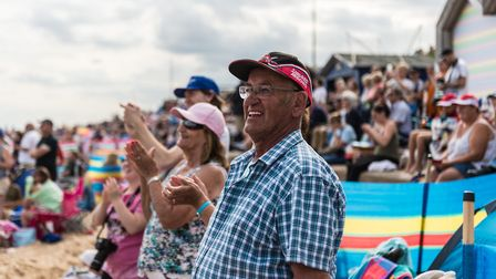 Organisers hope the Corbeau seats rally will soon rival events such as the Clacton Air Show. Picture