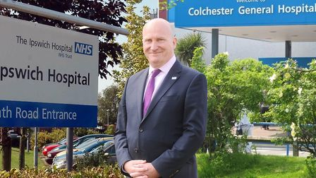 Nick Hulme is the chief executive of Ipswich and Colchester hospitals. Picture: ARCHANT