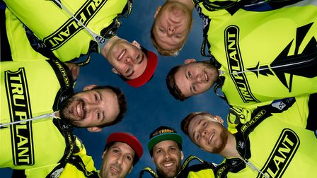 The 2018 Ipswich Witches pictured at a Studio Shoot, held at Ipswich Sports Club on 14-March-2018.