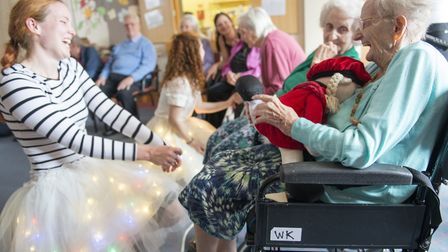 A previous Suffolk Artlink project for older people. Picture: PETER EVERARD SMITH