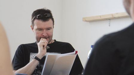 Script doctor - Pat advises other budding film scriptwriters with workshops and talks. Picture: Jinx