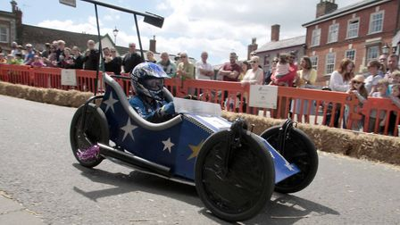 One of the racers at the starting line at last year's event. Picture: NIGE BROWN