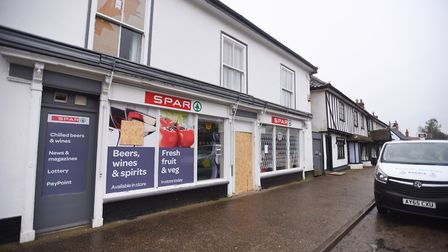 The Spar in Stradbroke was raided on Monday. Picture: GREGG BROWN