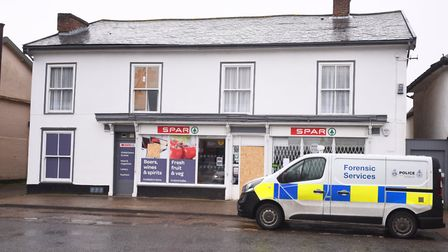 A man has been charged in connection the burglary of the Spar in Stradbroke. Picture: GREGG BROWN