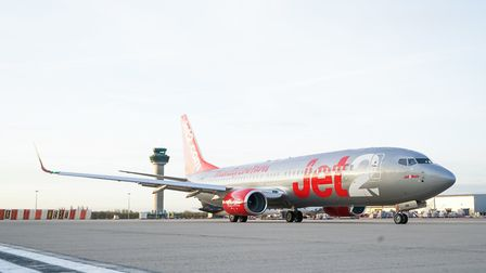 A Jet2 aircraft at Stansted Airport, where leisure carrier Jet2.com and sister company Jet2Holidays