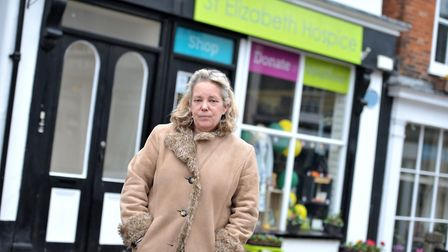 Rachail Pollard, manager of Framlingham's St Elizabeth Hospice shop, which was handed fake �20 notes