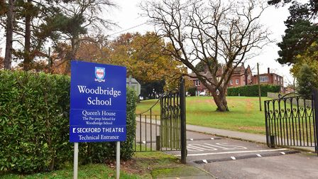 Woodbridge School has announced a new headmaster. Picture: SARAH LUCY BROWN