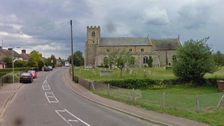 The crash happened in High Street near St Mary's Church. Picture: GOOGLE