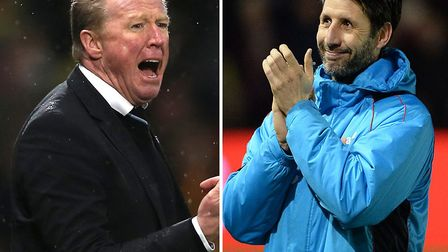 Steve McClaren and Danny Cowley are among the early favourites to replace Mick McCarthy. PA/Archant