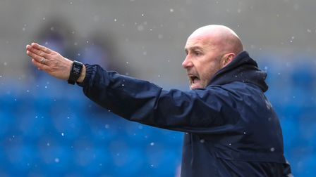 Colchester United head coach John McGreal is also on the list. Picture: STEVE WALLER WWW.STEPHEN
