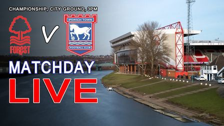 Ipswich Town take on Nottingham Forest this weekend.