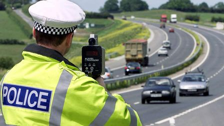 Police are urging people to curb their speed. Picture: PA