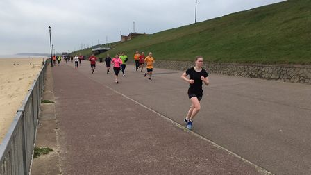 A field of more than 300 runners and walkers took part in last Saturday's Gorleston Cliffs parkrun.