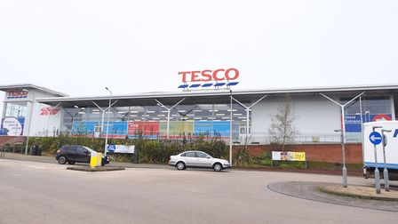 The Haverhill Tesco where the incident happened. Picture: ARCHANT
