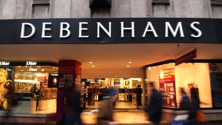 Debenhams is poised to report a halving of its profits. Photo: Stephen Kelly/PA Wire
