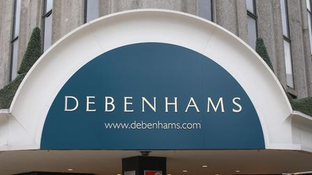 Debenhams issued a profit warning in early January after a disappointing Christmas period. Phot