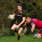 Josh Wallis had a great game with the boot for Southwold as they beat Wisbech. Picture: LINDA CAYLEY