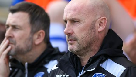 U's boss John McGreal, with his assistant Steve Ball in the background, are in a reflective mood dur