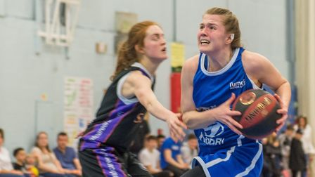 Ashleigh Pink led Ipswich with 26 points against Sevenoaks. Picture: PAVEL KRICKA