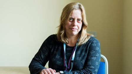 Denise Grimes, head of quality improvement at Norfolk and Suffolk NHS Foundation Trust (NSFT). Pictu