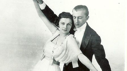 Vernon Castle pictured dancing with Irene. There is a campaign to get a plaque for the dancer in Nor