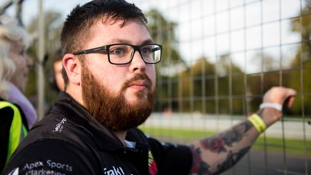 Army veteran Ash Hall, 27, has had two custom built bicycles stolen from his home in Colchester . Pi