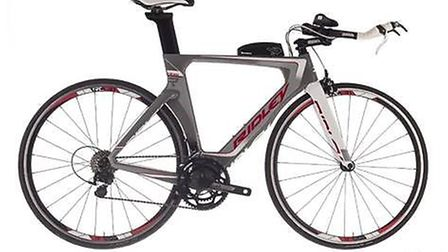 Mr Hall's stolen Ridley Dean bicycle. Picture: PROVIDED BY ESSEX POLICE