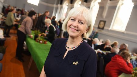 Town hall committee chairman Caroline Byles said it was a 'marvellous' celebration . Picture: GREGG