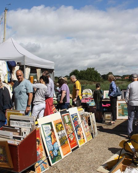Head down to the vintage market this weekend. Picture: RICHARD GINGER