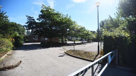 Bacton Community Middle School site. Picture: GREGG BROWN