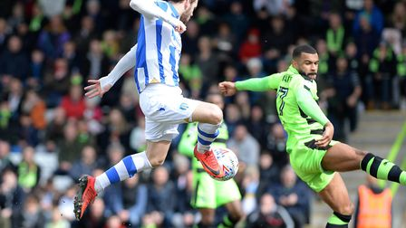 Drey Wright, tucking home an early goal in Colchester United's win at Forest Green, is a doubt for t