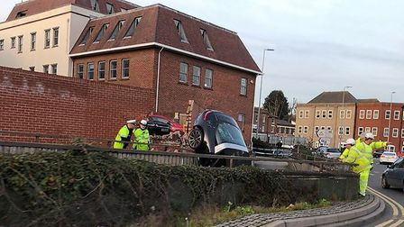 Essex Police were called to the scene. Picture: NICOLE ROSE